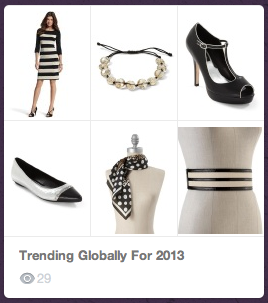 2013 trends all added by the 'add' button!